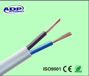 300/500V 2/3 Cores Flexible Electric Power Cables
