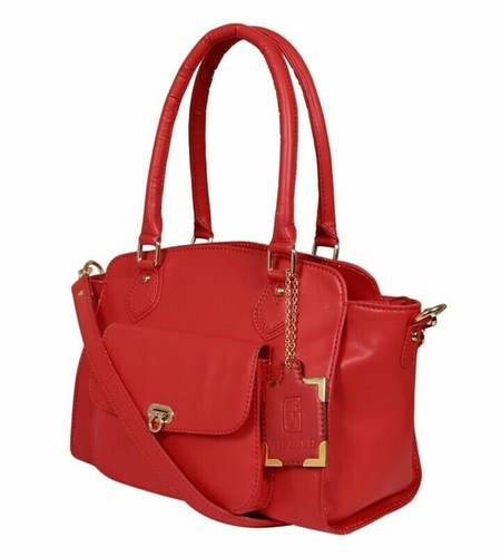 Ladies Synthetic Leather Bags in  Naraina