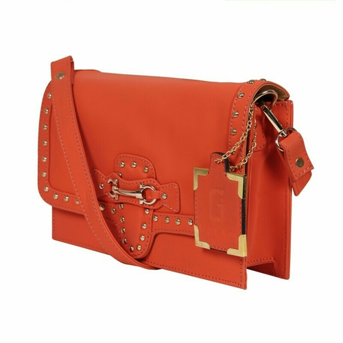 Orange Clutch Cross Body Bags