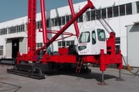 Hydraulic Walking Type Pile Driver