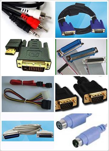 Audio/Video cable D-Sub SVGA DIN USB SATA