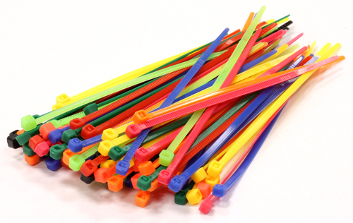 Color Cable Ties in  Lohar Chawl