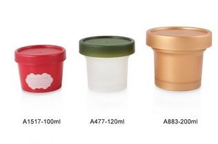 Empty Cream Container Little Capacity Cream Jar in   HUDI ROAD