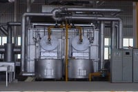 Aluminium Melting Furnaces And Caster With Complete Solutions