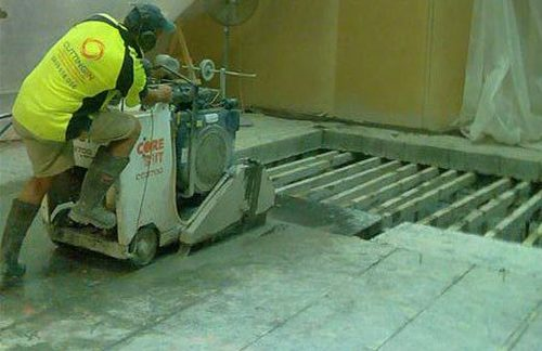 Concrete Slab Cutting Service