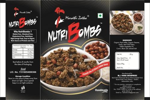 Nutribombs (Bajra Based Ready To Eat Handmade Snack)