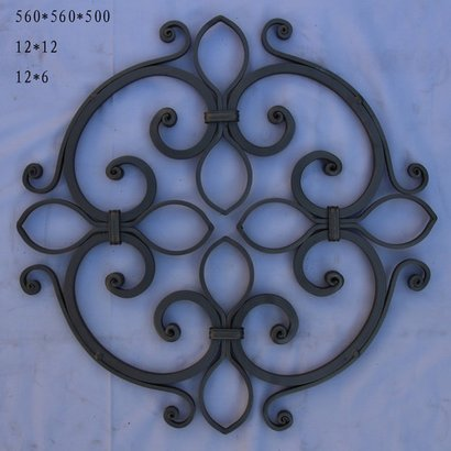 Cast Products Ornamental Iron Grill