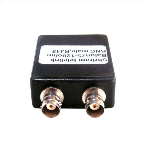 Bnc Female Dual To Rj 45 Balun