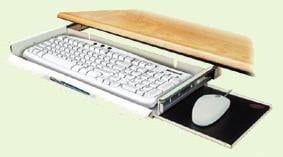 Computer Keyboard/Mouse Tray
