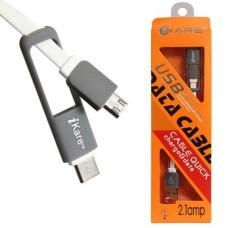 Micro Usb Cable With Type C Connector