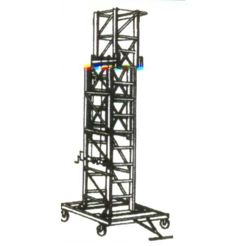 Titable Mobile Tower Extension Ladder