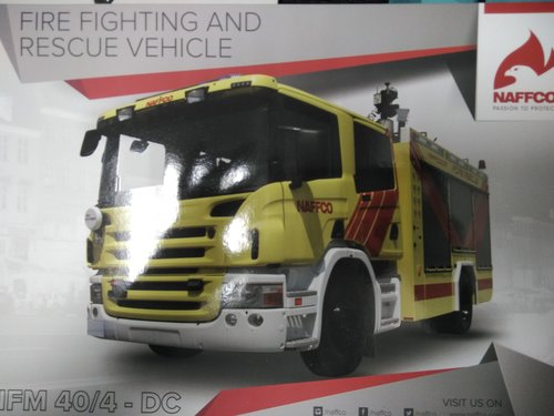 Firefighting And Rescue Vehicle - Naffco India Pvt  Ltd , A
