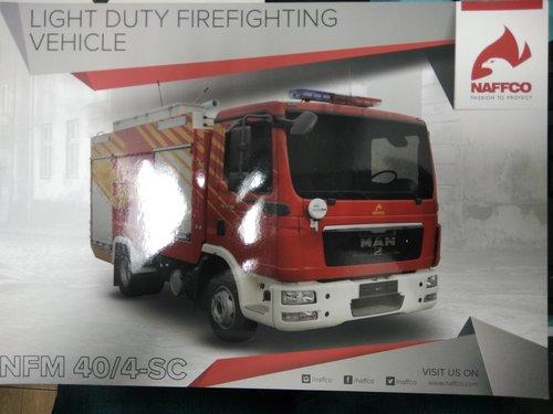 Light Duty Fire Fighting Vehicle - Naffco India Pvt  Ltd , A