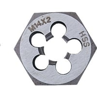 Metric Coarse HSS Ground Thread Die Nuts