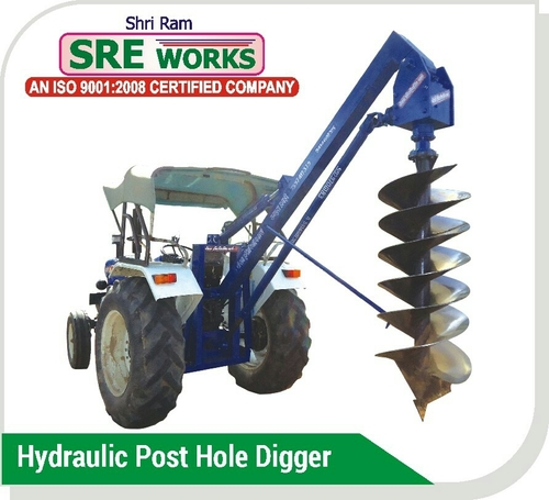 Hydraulic Post Hole Digger