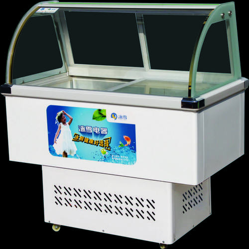 Showcase Gelato Popsicles Ice Cream Freezer For Ice Cream Used