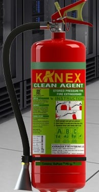 Kanex Fe 36 Clean Agent Fire Extinguisher
