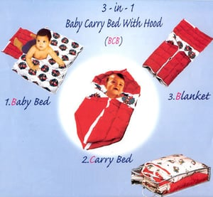 Baby Carry Bed With Hood