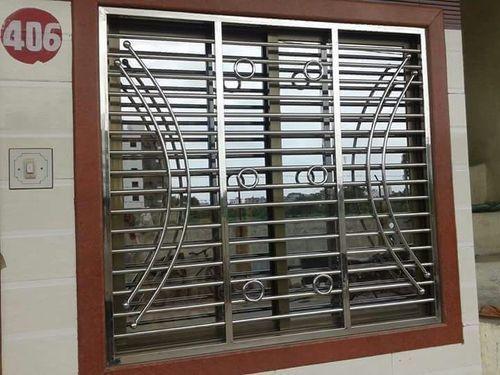 Stainless Steel Window Grill in Wilson Garden & Stainless Steel Window Grill in Bengaluru Karnataka - CRYSTAL ...