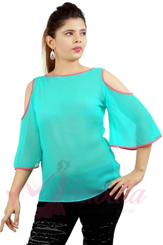 Ladies Cold Shoulder Tops in  Lower Parel