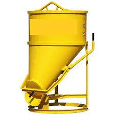 Concrete Banana Buckets in  Industrial Area
