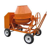 Concrete Mixers in  Industrial Area