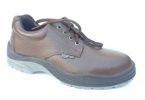 Leather Brown Shoes in  Jajmau