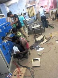 on wiring work