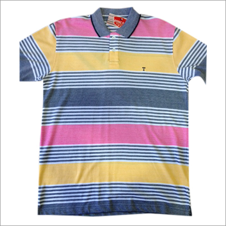 Fashionable Mens Collar T-Shirt