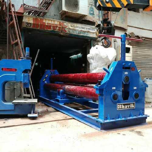 Motorised Plate Bending Roller in  Rakhial