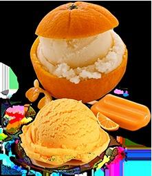 Orange Ice Cream