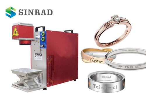 Portable Mini Size 20W Jewelery Laser Marking Machines