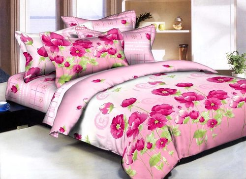 Good Printed Colorful Bedsheets In Shahdara