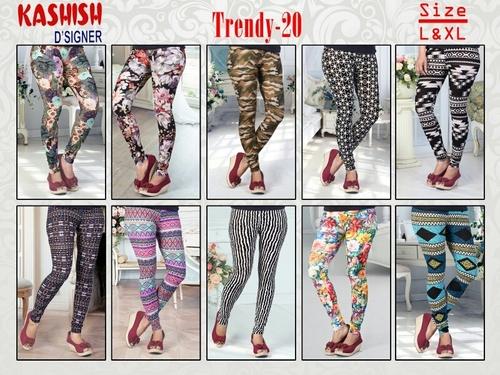 Trendy 20 Lycra Leggings