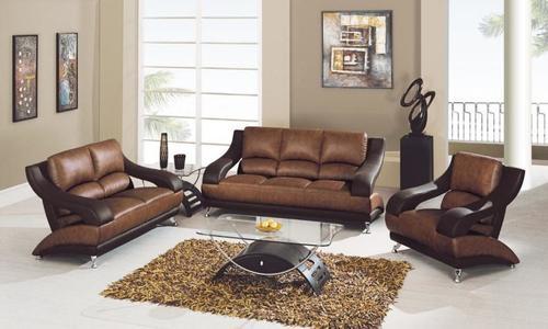 Leather Seat Sofa