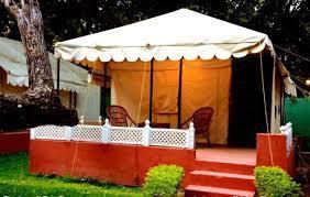 Resort Tents in  Shalimar Bagh & Village