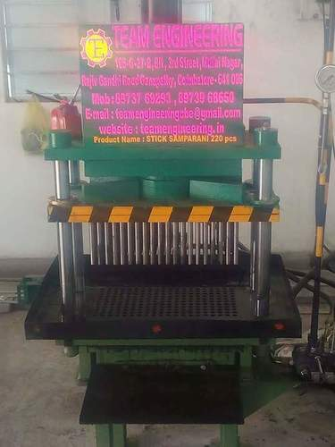 Computer Sambrani Making Machine