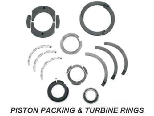 Piston Packing and Turbine Rings