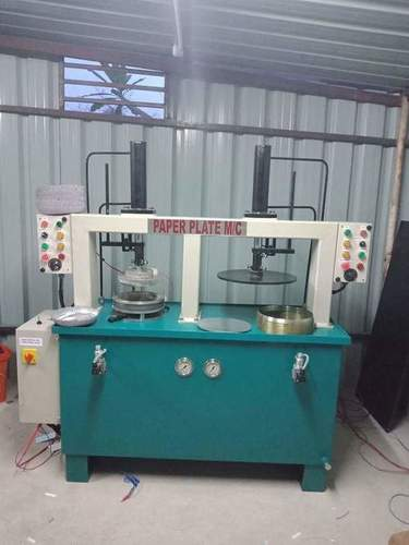 Silver Coated Paper Plate Making Machine