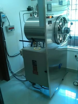 Stainless Steel Autoclave Machine