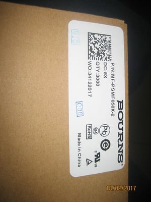MF-PSMF050X-2 Bourns Resettable Fuses