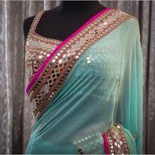 Designer Look Saree in  Chandni Chowk