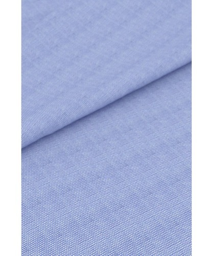 Cotton Blue and White Yarn Fabric