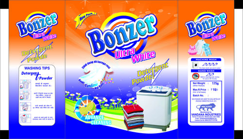 Detergent Powder Packaging Printed Pouches