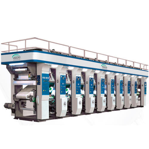 Industrial Gravure Printing Press Machines