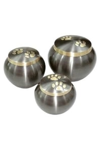 Silver Colour Brass Urns