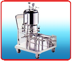 Zero Holdup Filter Press With Jacketed