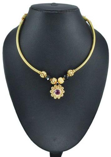 Gems Embedded Necklace