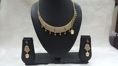 Gold Plated Fashion Necklace Sets