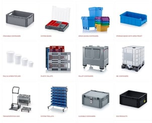 Industrial Stackable Containers